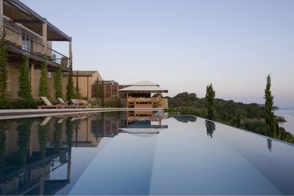 Villa Amalthea & Pelagia pool