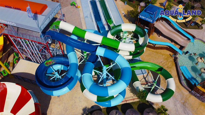 Aqualand Top view